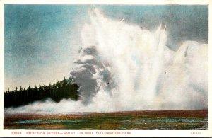 Yellowstone National Park Excelsior Geyser Haynes Photo