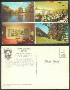 New York, Long Island, Smithville, Towne House Court, unused
