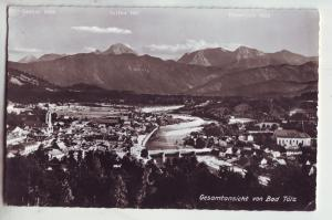 P1034 RPPC gesamtansicht von bad tolz birds eye view germany