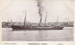 SYDNEY , New South Wales , Australia , 00-10s ; Aberdeen Liner in port