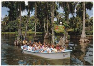 Florida Cypress Gardens Electric Boat Ride
