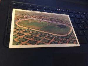 Vtg Postcard-Indianapolis Motor Speedway, the Greatest Race Course in the World