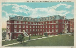 WESTMINSTER , Maryland, 1936 ; Blanche Ward Hall , Western Maryland College