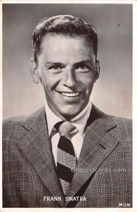 Frank Sinatra Movie Star Actor Actress Film Star Postcard, Old Vintage Antiqu...
