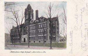 NORRISTOWN , Pennsylvania , PU-1907; Norristown High School