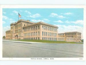 W-Border SCHOOL SCENE Lowell Massachusetts MA E2841
