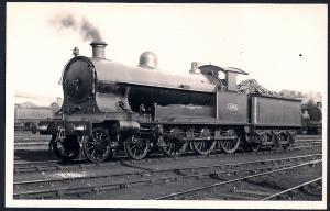 LONDON NORTHWESTERN Railroad Locomotive #1361 RPPC unused