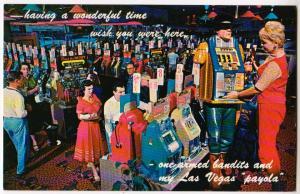 Slot Machines, Gambling Casino, Las Vegas Nev