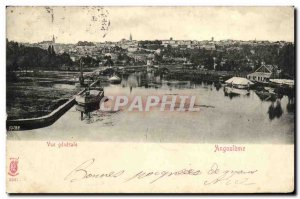 Old Postcard Angouleme Vue Generale
