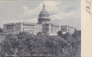 The Capitol Park Front Washington DC Rotograph 1906