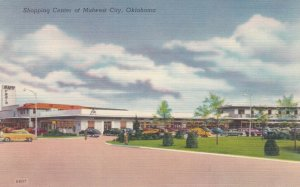 Shopping Center at MIDWEST CITY, Oklahoma, 1930-40s