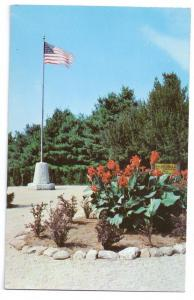 Cathedral of the Pines Entrance Rindge NH Postcard