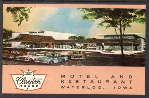 Claton House Motel and Restaurant,Waterloo,IA