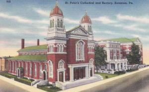 St. Peter's Cathedral and Rectory - Scranton PA, Pennsylvania - Linen