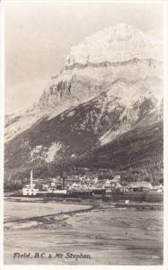 RP: FIELD , B.C. , Canada , 10-30s & Mt Stephen