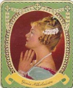 Garbaty Cigarette Card 1934 Modern Beauties No 95 Genie Nikolaiewa