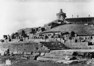 BR29176 Ruines du temple de Mercure et l Observatoire du puy de Dome france