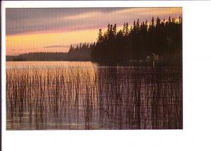 Downtown Lake at Sunset, Saskatchewan Canada Post Matching 8 Cent Stamp Series