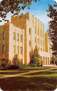 Laramie University of Wyoming~Liberal Arts Bldg~Ears Hurt After Mtn Descent 1964