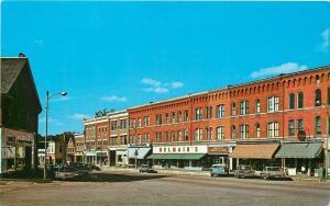 Randolph Vermont~Main Street~Savings & Loan~Belmain's Department Store~1950x