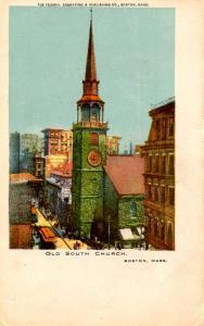 MA - Boston. Old South Church