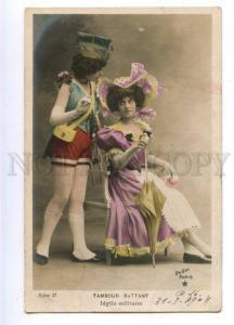 177284 VAUDEVILLE Dancer Female as MALE Vintage PHOTO PC