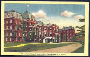 Vassar College Poughkeepsie New York unused c1930's