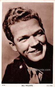 Bill Williams Movie Star Actor Actress Film Star Unused