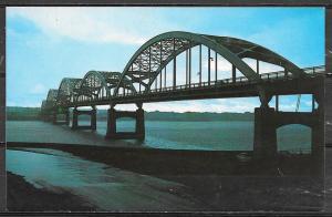 Iowa, Davenport, Centennial Bridge to Rock Island Ill. unused