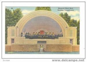 Memorial Band Shell, Reading, Pennsylvania, 1930-40s