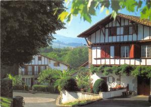 BR8760 Pays Basque Maisons basques a Ainhoa  France