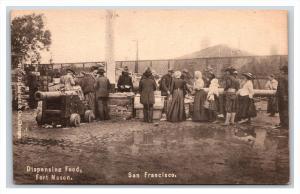 California  San Francisco  Fort Mason Dispensing Food