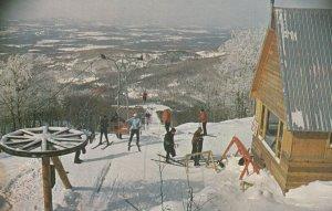 MONT SUTTON , Quebec , Canada , 1960-70s ; Ski Slopes ; Version-2