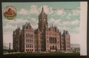 State Capitol, Salt Lake City, Utah, C.E. Wheelock & Co. 558