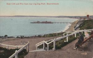Bournemouth , Dorset , England , 00-10s : East Cliff from near the Zig-Zag Path