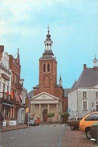 Netherlands Postcard Roosendaal St Jan church