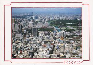 Japan Tokyo Akasaka District Aerial View