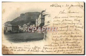 Old Postcard Monte Carlo Post