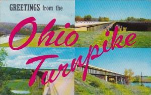 Largest Bridges On The Ohio Turnpike Ohio 1958