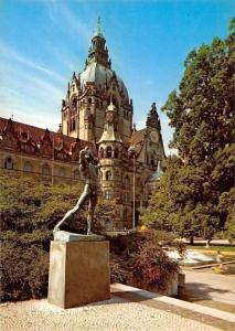 Rathaus Town Hall Statue Archer Hannover