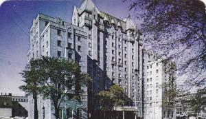 Exterior View, Lord Elgin Hotel, Ottawa, Ontario, Canada, 40-60's