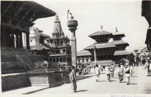 RP: Mangal Bazar (Patan (Lalitpur)) , Kathmandu , Nepal , 1930s : #2