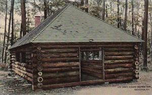 New York Rochester Log Cabin In Durand Eastman Park