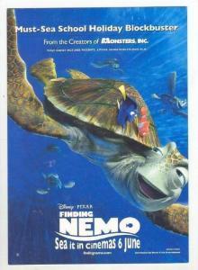 Disney, Finding Nemo, Turtle, 1990s