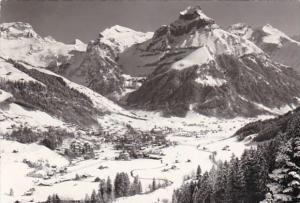 Switzerland Engelberg mit Hahnen 1967 Photo