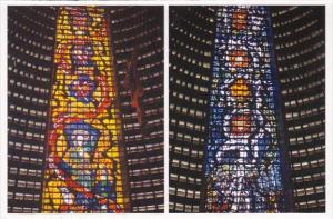 Brasil Rio De Janeiro Rj Yellow Stained Glass The Apostholic Church