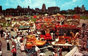 Wisconsin Milwaukee The Showgrounds Old Milwaukee Days July 1-4 Circus Wagons