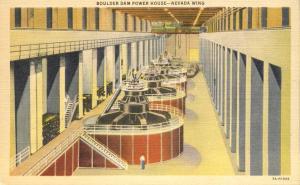 Powerhouse Nevada Wing - Hoover (Boulder) Dam NV, Nevada - Linen
