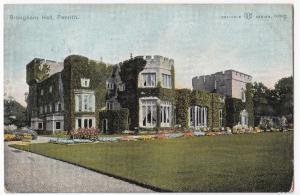Cumbria; Brougham Hall, Penrith PPC 19054 Penrith PMK, to Miss Drake, Pokesdown