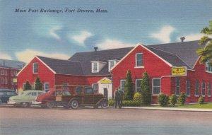 Massachusetts Fort Devens Main Post Exchange sk5347